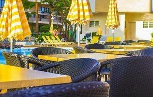 терраса Hotel Coral California
